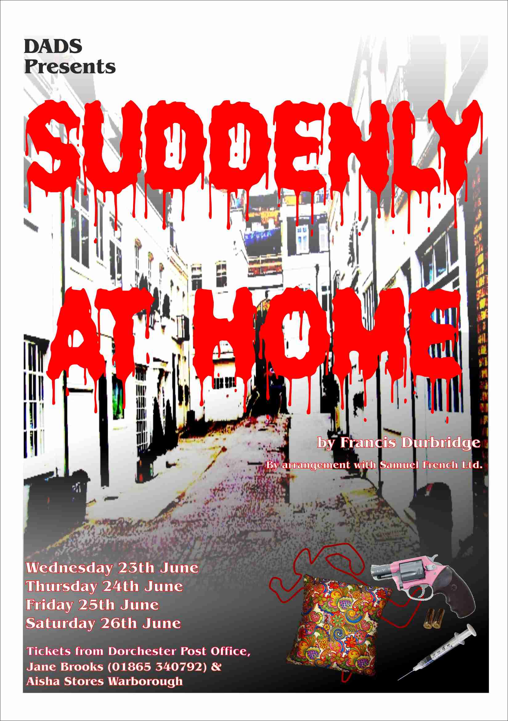 Suddenly at home Poster Final